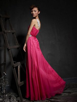 four styles of evening dresses make you perfect bride
