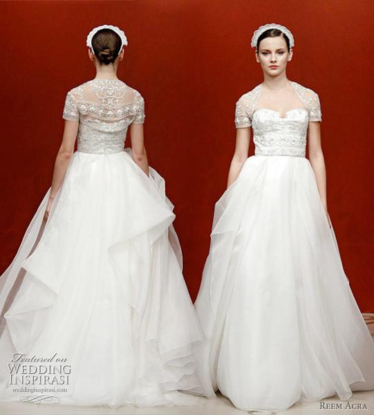 Price Of Reem Acra Wedding Dresses