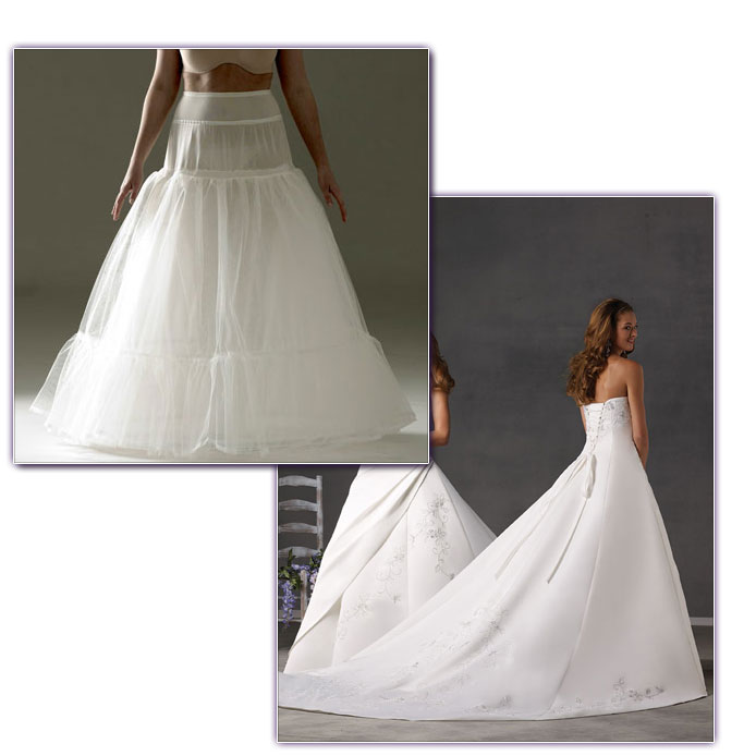 How to choose the right Hoop or Petticoat for your Wedding Dress ...