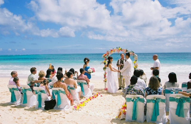 White Sand A Gorgeous Sunset And Waves Ling Directly Along The S Are You Planning Your Wedding On Beach