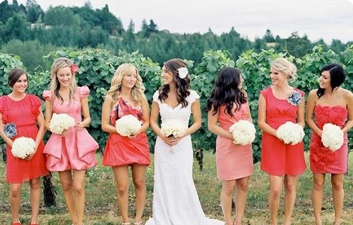 Embellishment for the Wedding – Bridesmaids' Dresses