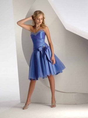 Mini Dress on Beautiful Prom Dress Source Prom Dressesit Is Never Easy To