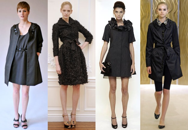 designer little black dresses