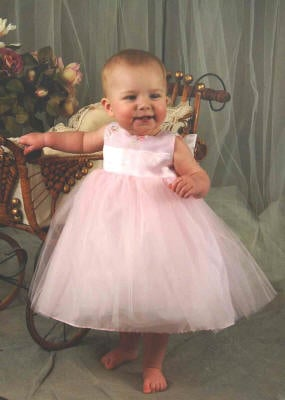 infant flower girls dresses