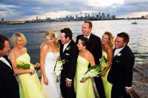 groomsman and bridesmaid dresses
