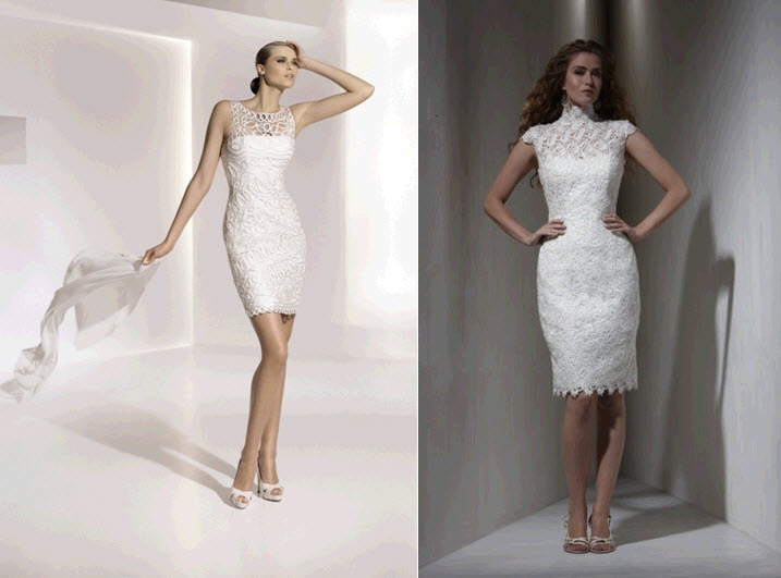 fashionable knee length wedding dresses jj 39 s house