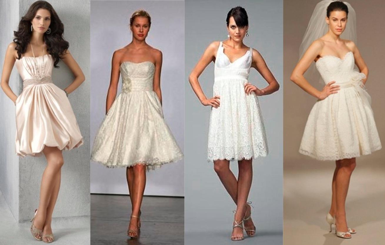 Fashionable knee length wedding dresses jjshouse knee length wedding dresses knee length wedding dresses ombrellifo Images