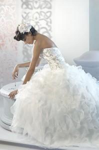 reserve your wedding dress