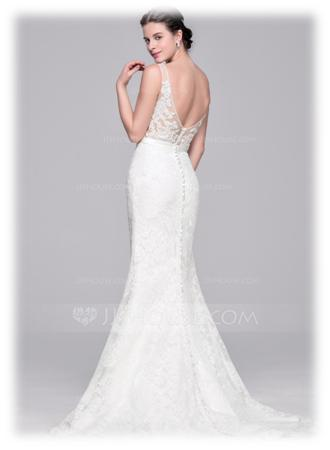 Usually The Back Hem Is Only A Few Inches Lower Than Front It Perfect For An Elegant Informal Or Semi Formal Wedding Gown