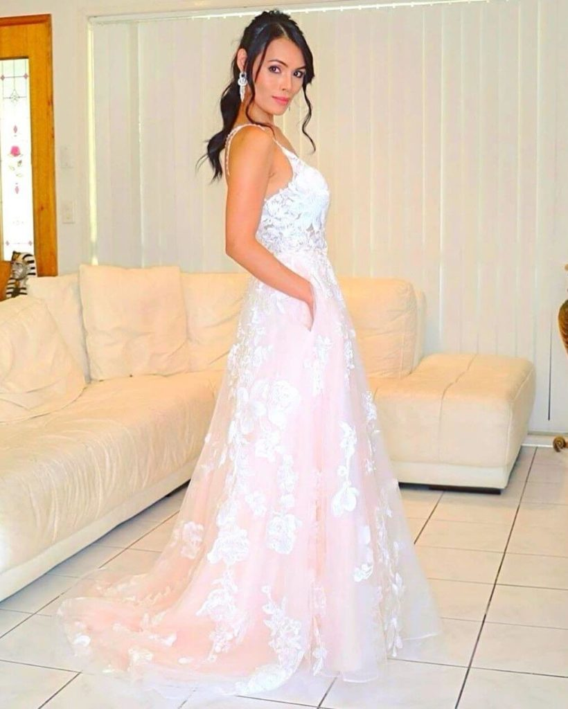 Fabulous Off White Wedding Dress with Pockets - JJ's House Style Gallery by angel.gower