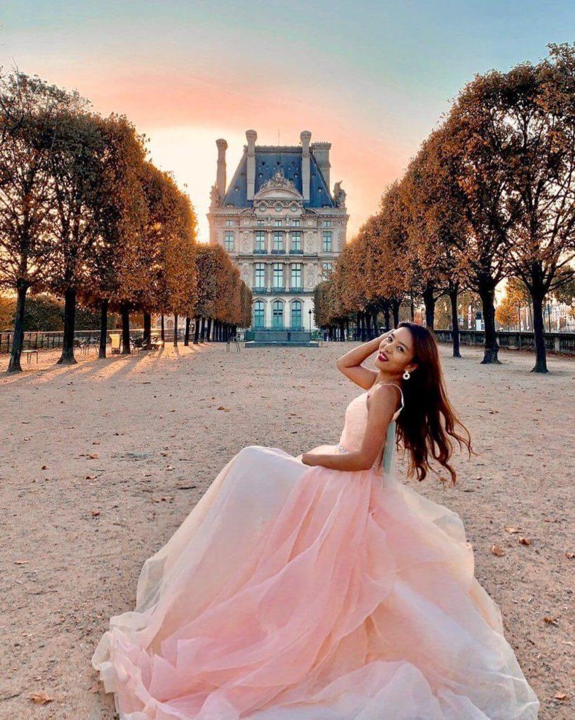 Flambouyant Fashion - Beautiful Orange Wedding Gown Represents Youthfulness and Vitality