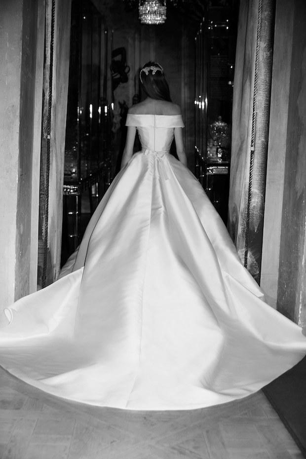 Bridal Fashion Week Features Enormous Ball Gown Wedding Dress