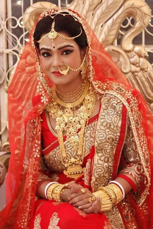 bride in luxrious dresses