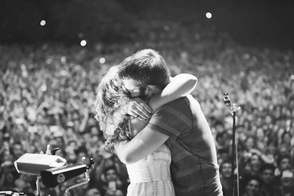 Proposal at the Concert