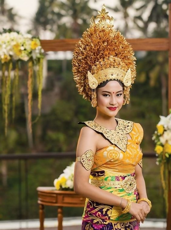 Balinese Brides and Dresses