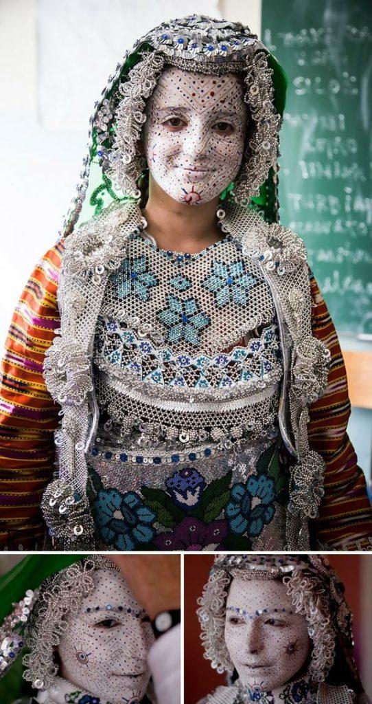Gorani Bride and Face Art