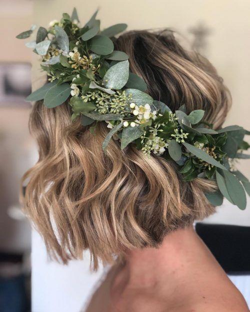 Fresh Greenery Crown