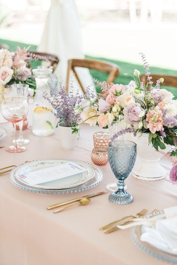 Pastel Shades for a Magnificent Wedding