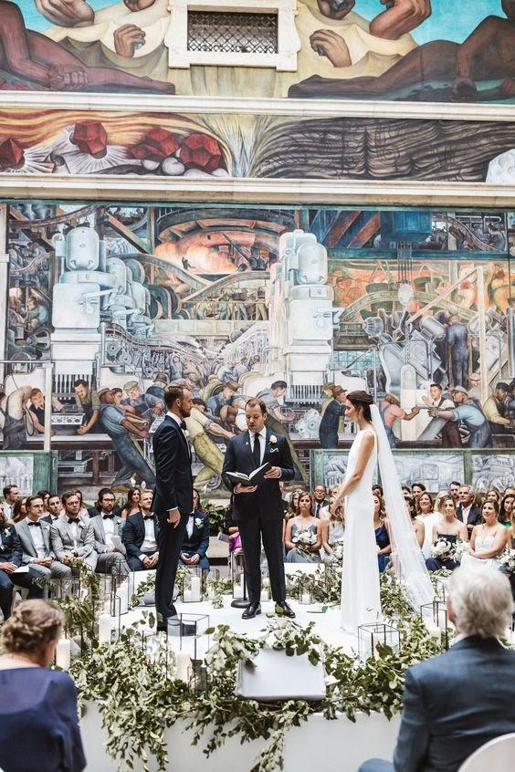 Art - Inspired: Museum Wedding Venue