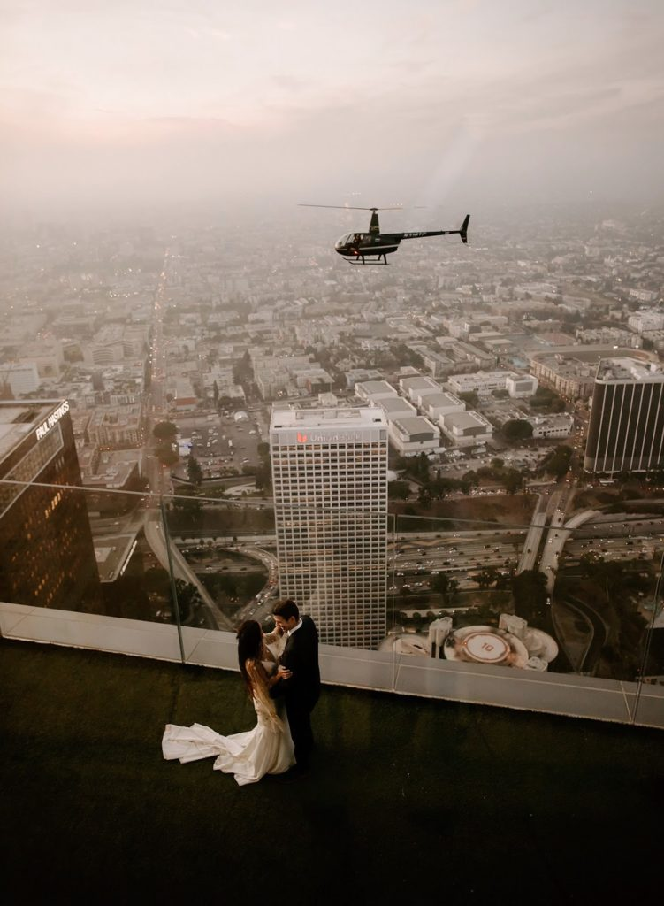Incredibly Fascinating Rooftop Weddings