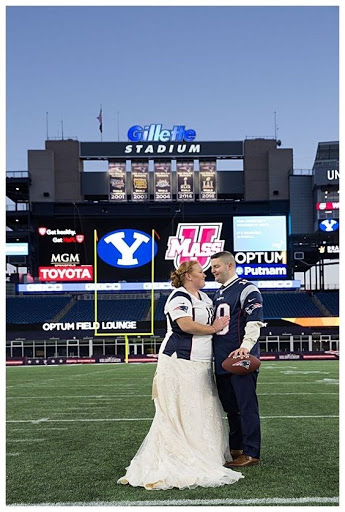 Sports Fanatic Stadium Weddings