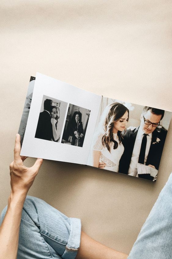 A Precious Wedding Album to Record Every Moment of Your Big Day