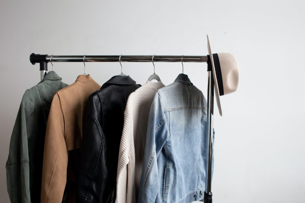 A Simple Wardrobe with Coats