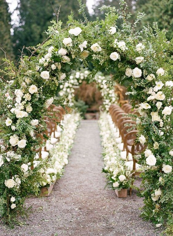 Beautiful Flower Garden Wedding Theme
