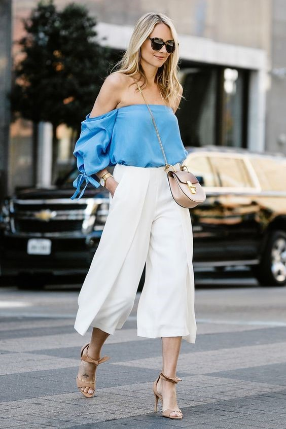 Fashion Culottes for a Look Suitable for Day and Night