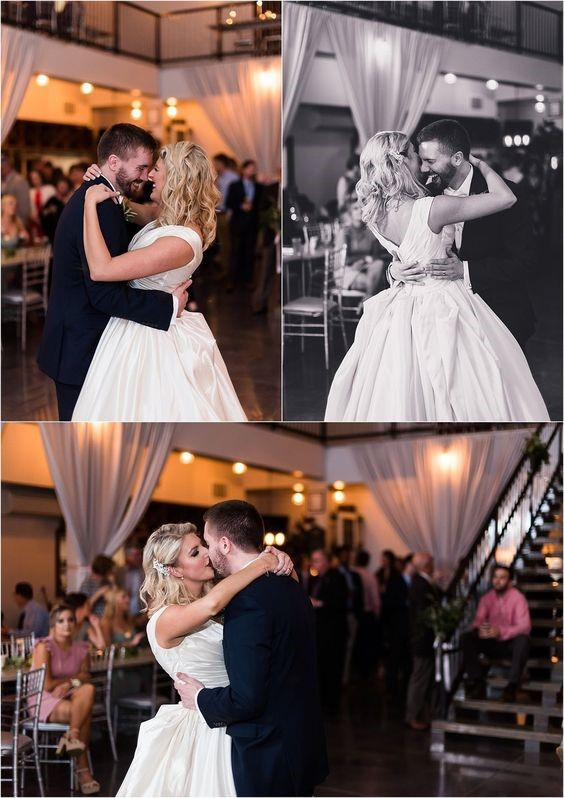 First Dance - Bride and Groom Reception Photos