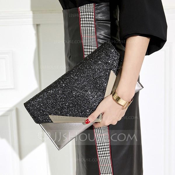 Shining PU Clutches/Evening Bags