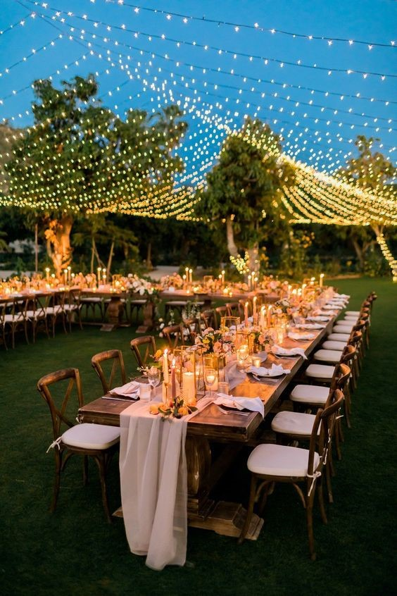 Summer Night Wedding Venue