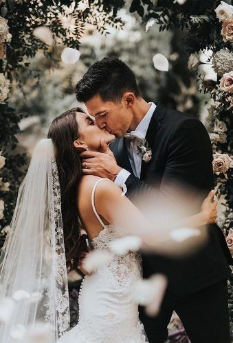 Unforgettable Kiss After Wedding Vow
