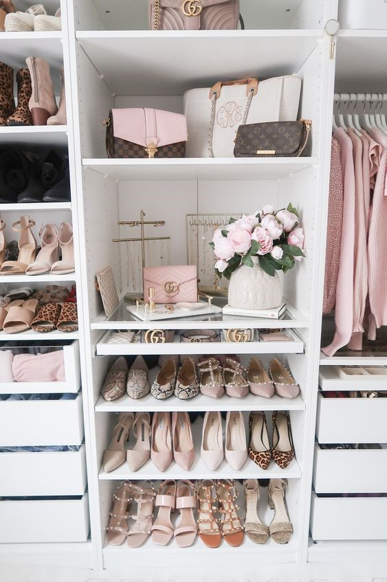 Wardrobe for Shoes. Bags and Acc
