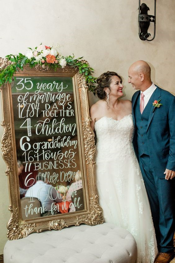 Wedding Anniversary Celebration and Vow Renewal Ceremony - Marriage Goals