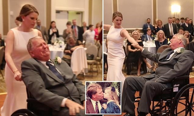 Wedding Dance: Father and Daughter Moment on the Dance Floor