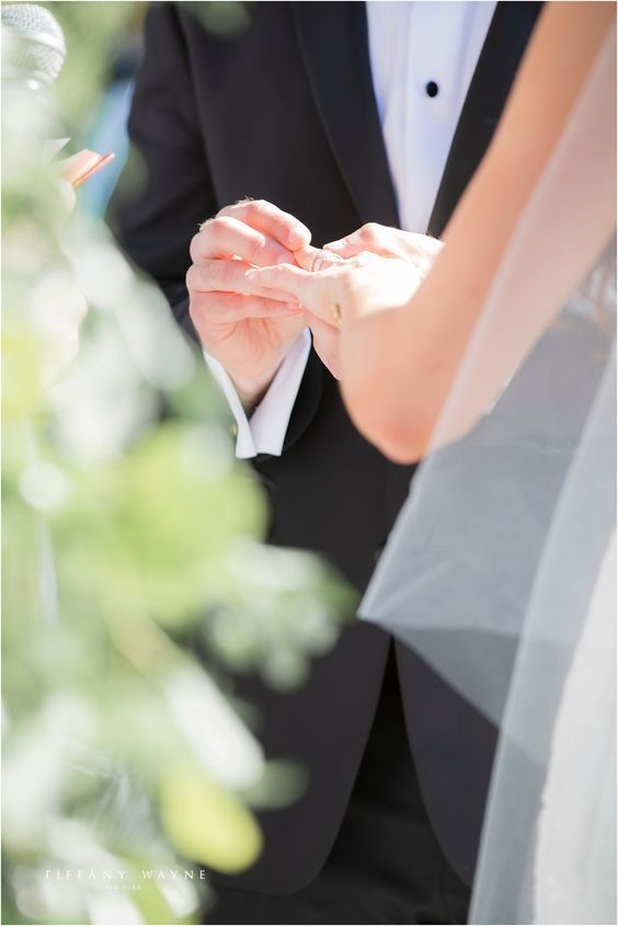 Wedding Photos not to be Missed: Exchanging of Rings