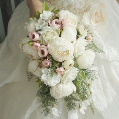 Cascade Silk/Cloth Bridal Bouquets