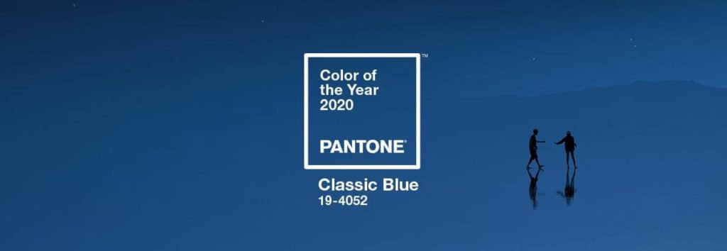 Color of the year 2020 - classic blue