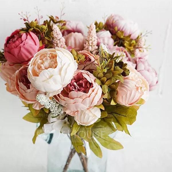 Elegant Free-Form Silk Flower Decorations/Wedding Table Flowers