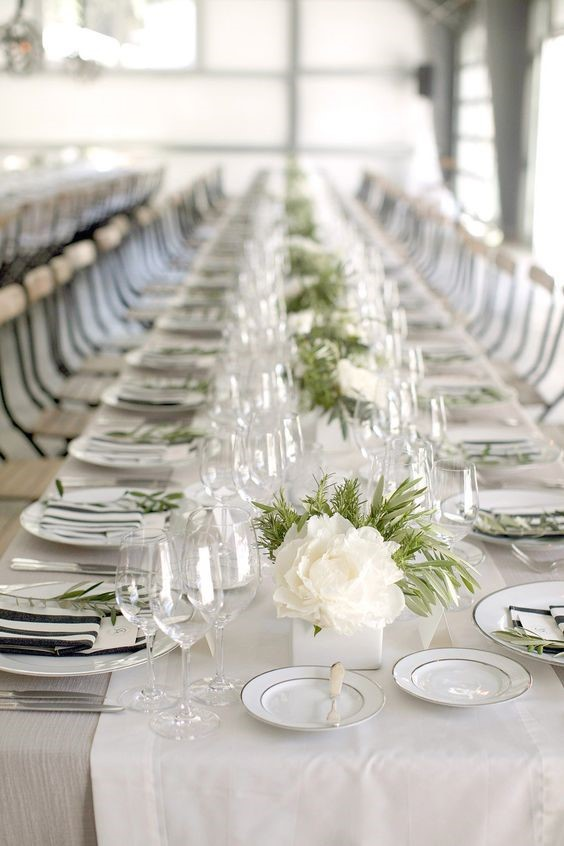 Pure All White Wedding Theme