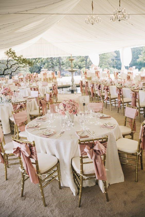 Romantic Blush Pink Wedding Theme