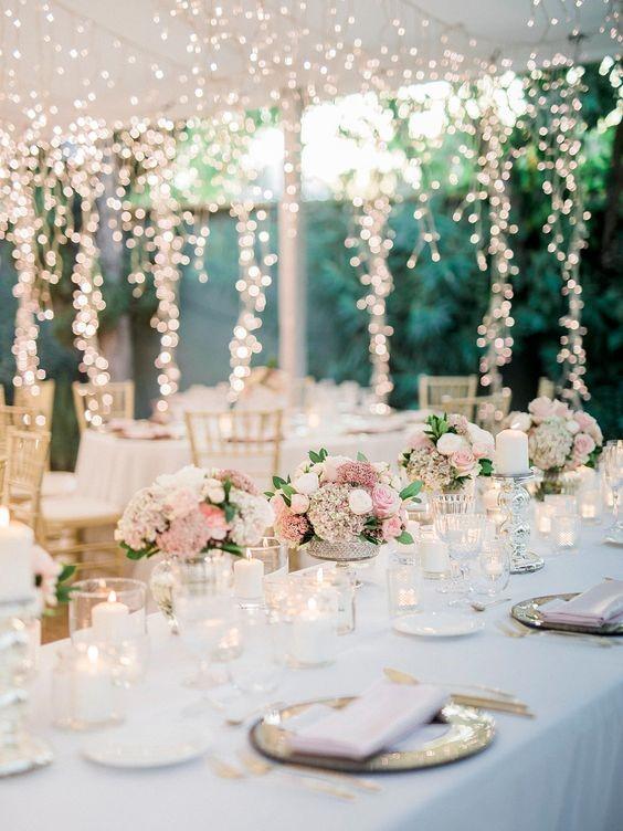 Romantic Pink Wedding Theme