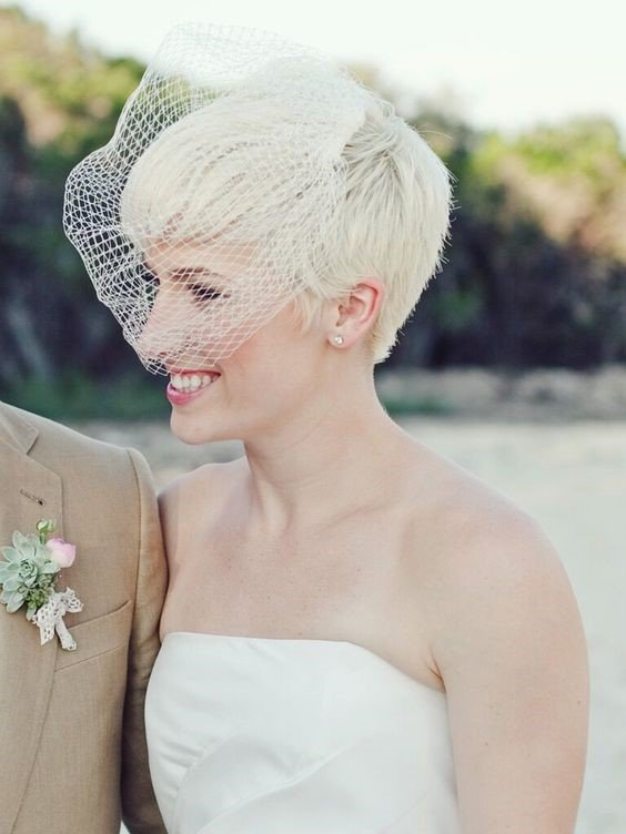 Bridal Hairstyles For Short Hair Wedding Inspirations 2020 Jj S House