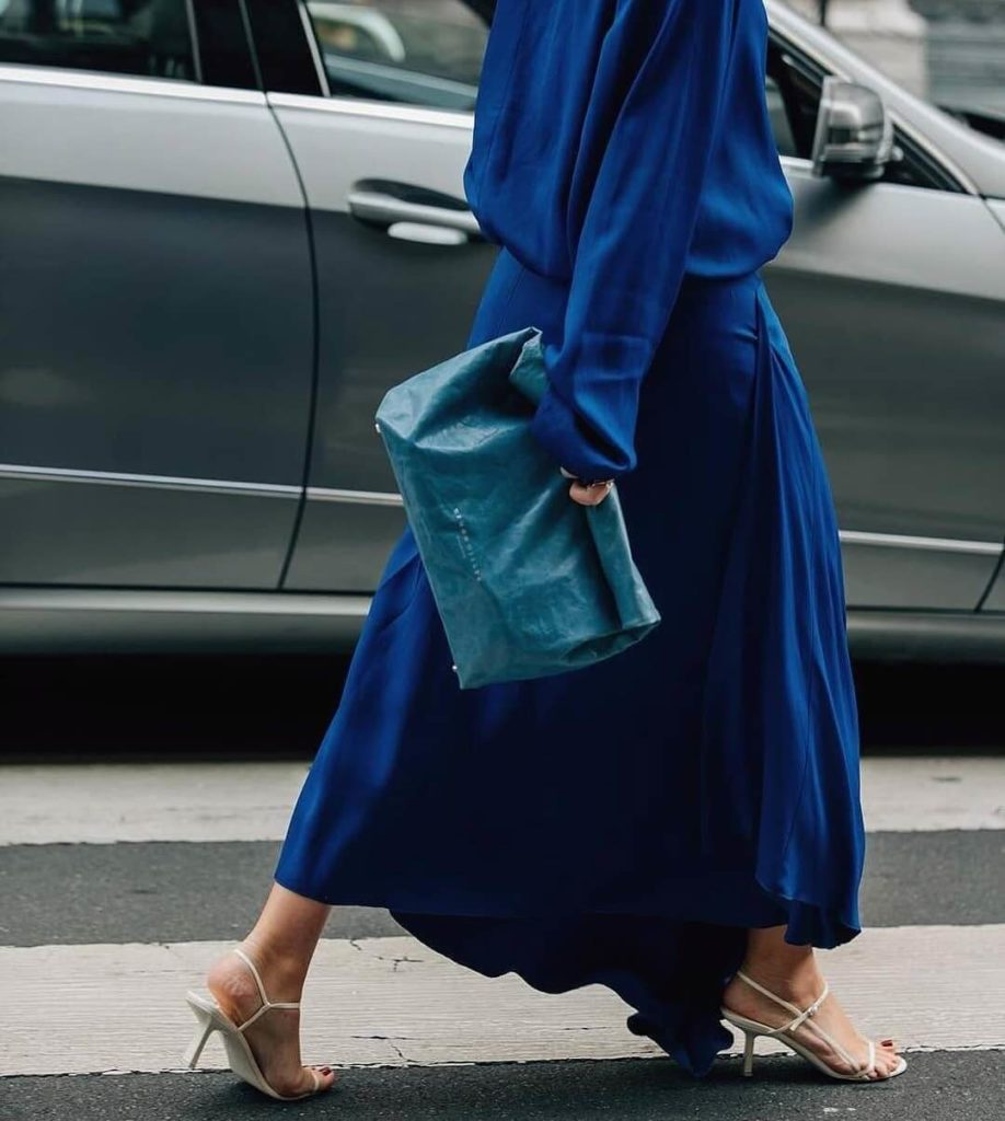 Trendy All-Classic-Blue Look