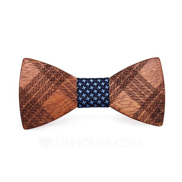 Classic Modern Wood Bow Tie