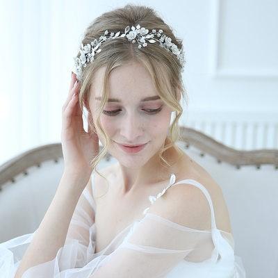 Elegant Alloy Headbands With Rhinestone/Crystal