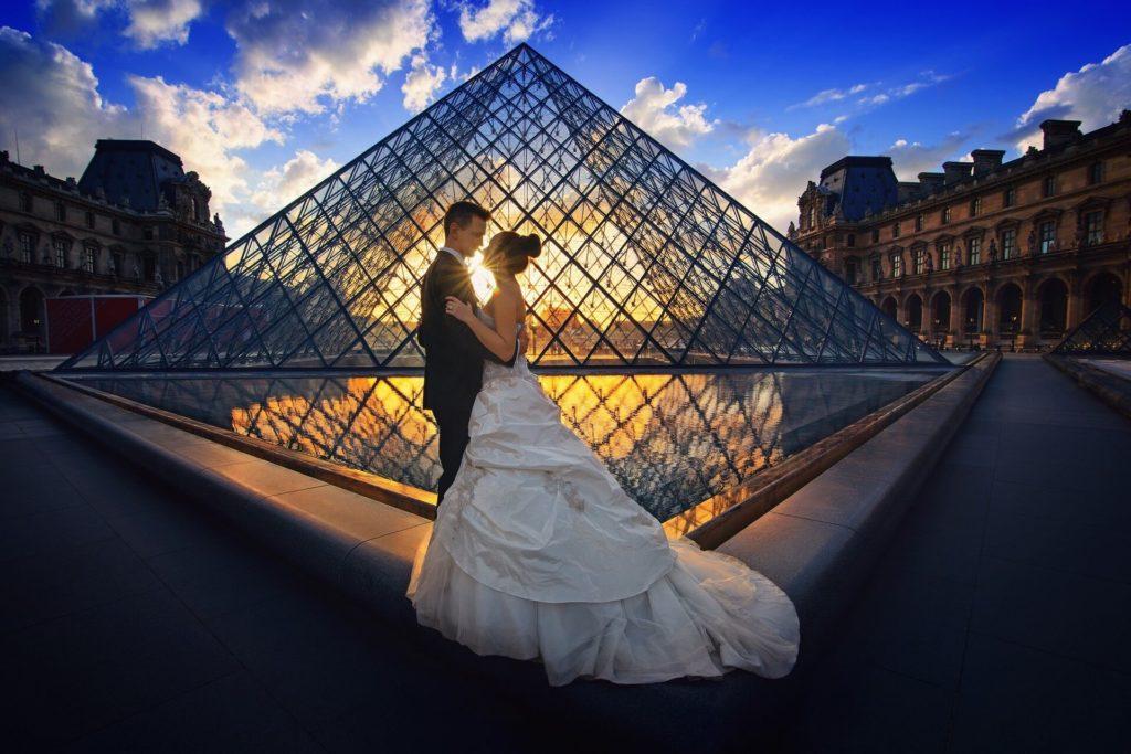 Romantic Destination Wedding at Louvres