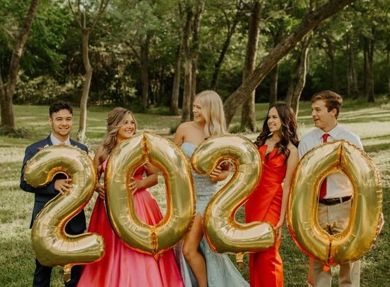 Texas Prom 2020 Corona Style- Prom Group Photos