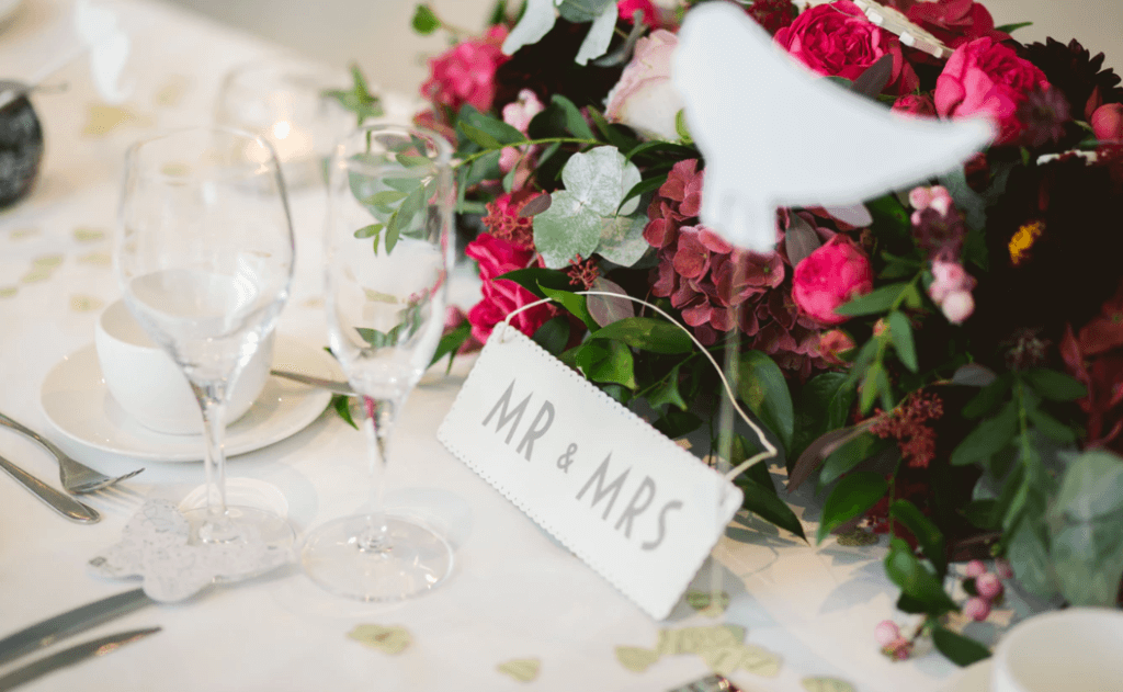 Setting the Deadline for a festive wedding celebration. Invites received by guests on time allows them to RSVP